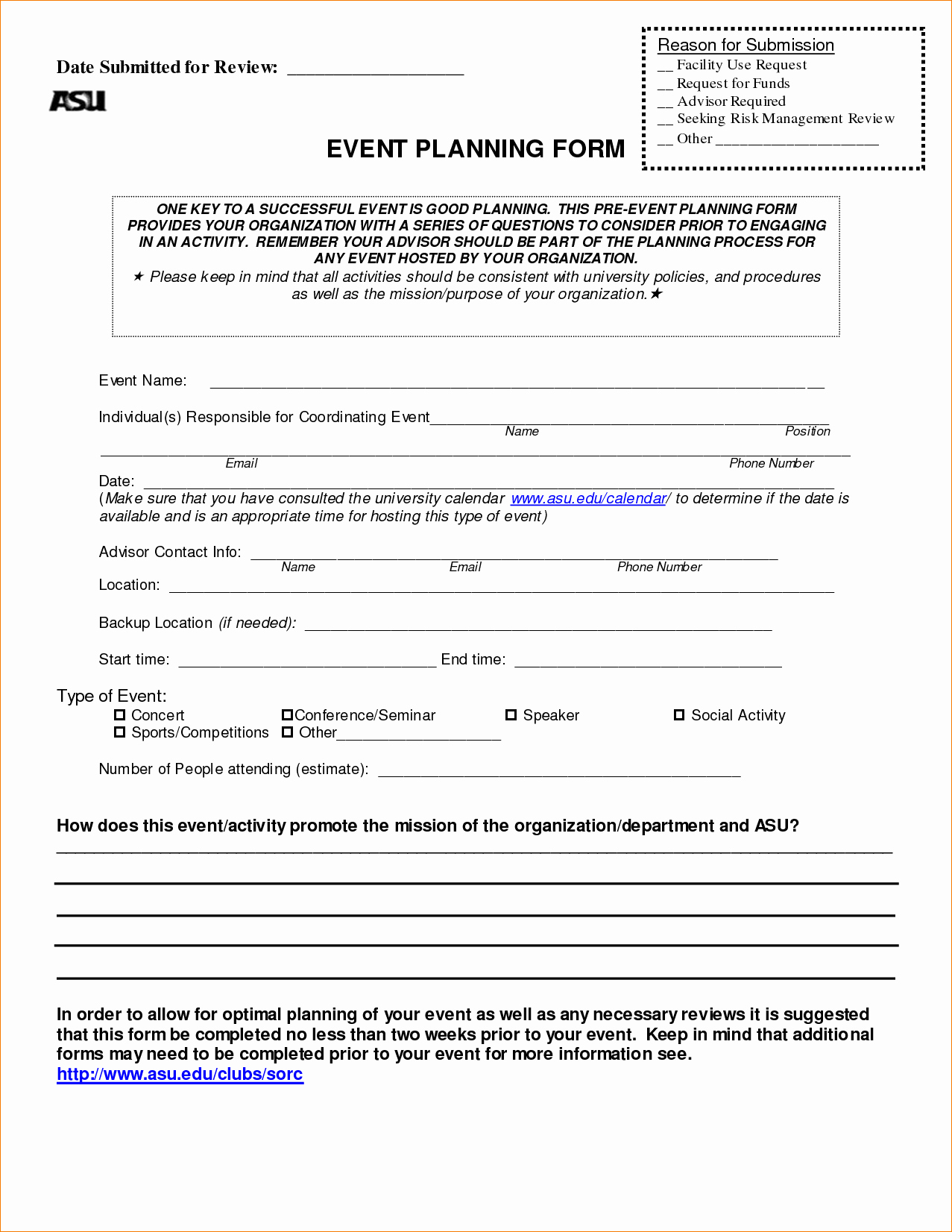 7 event Planner Contract Template