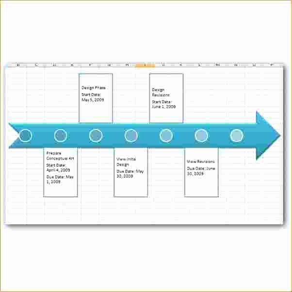 7 Excel Project Timeline Template
