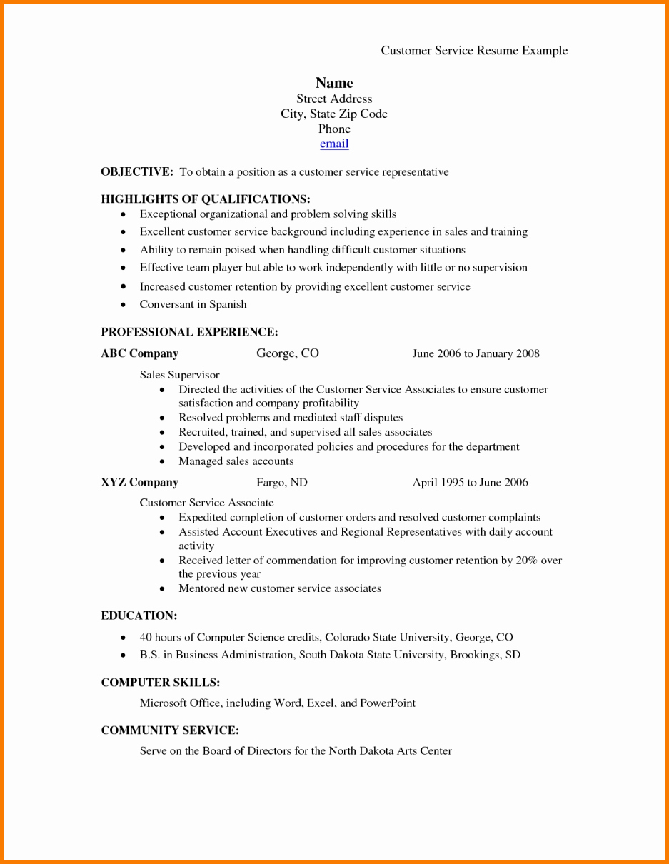 7 Farm Service Agency Resume
