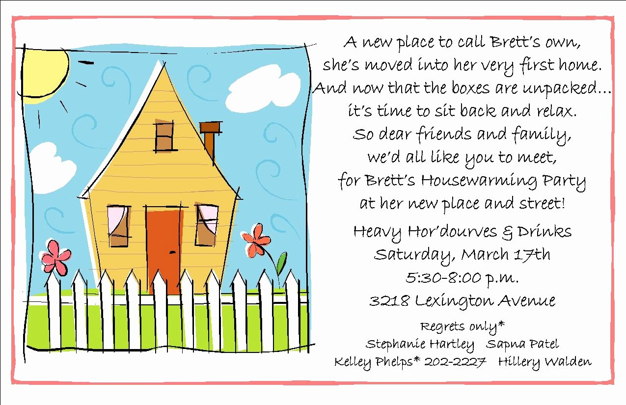 7 Fine Housewarming Invitation Ideas Wording Ebookzdb