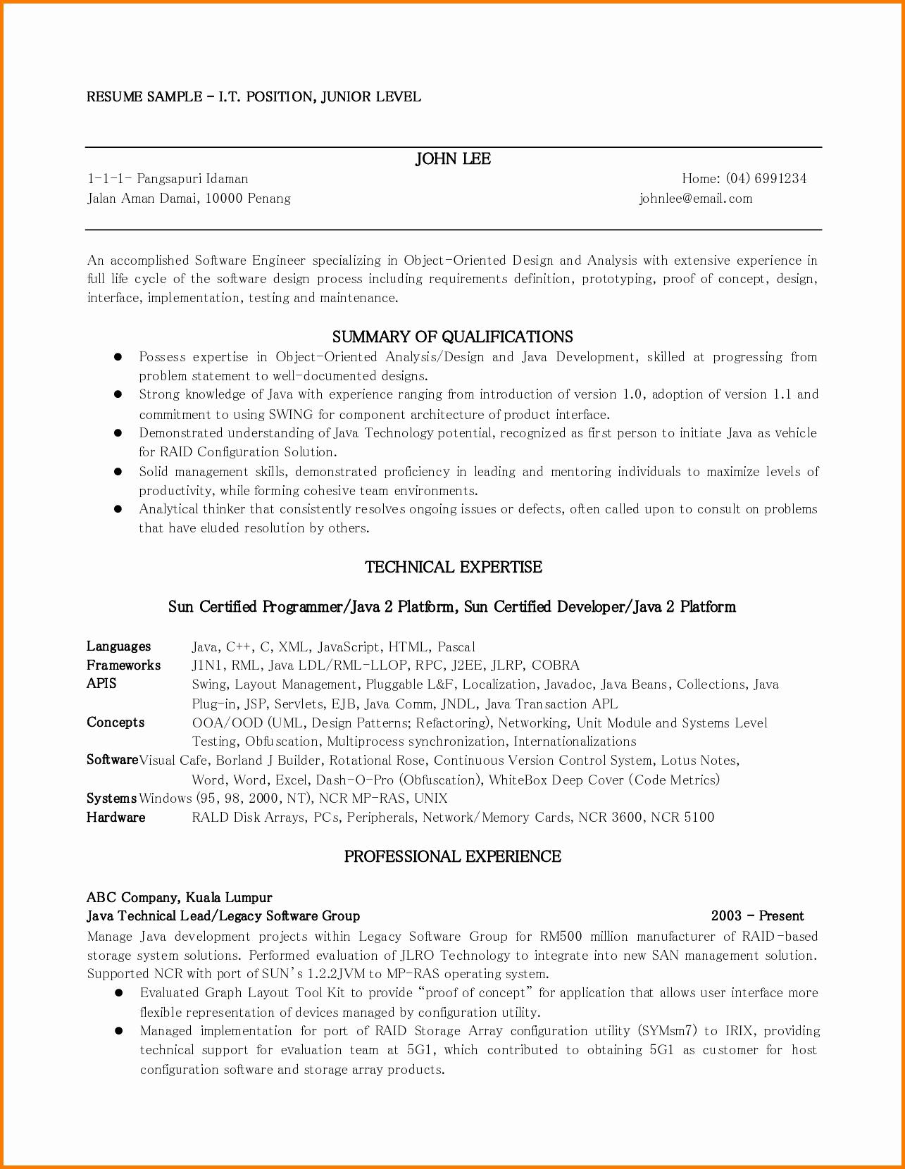 7 First Job Resume Templates