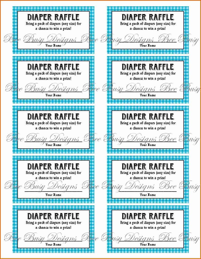 7 Free Printable Raffle Tickets