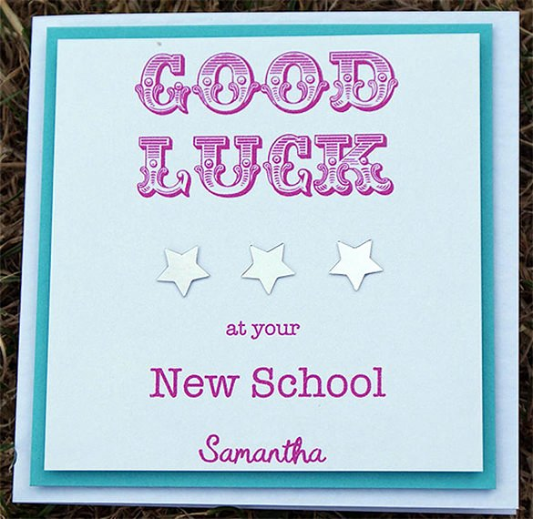 7 Good Luck Card Templates Psd Eps