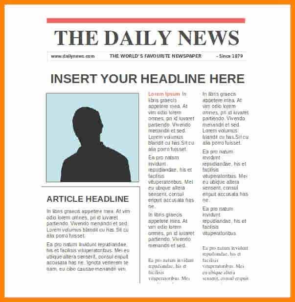 7 Google Docs Newspaper Template