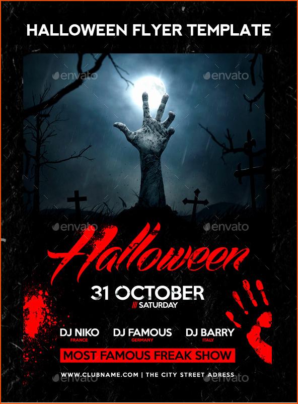 7 Halloween Flyer Templates Bookletemplate