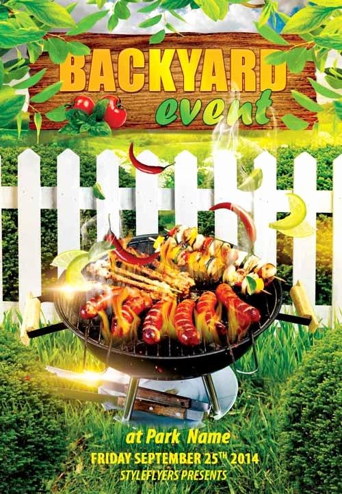 7 Hot & Free Barbecue Bbq Flyers Templates