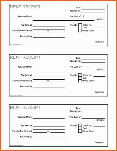 7 How to Print Receipts Bud Template Letter