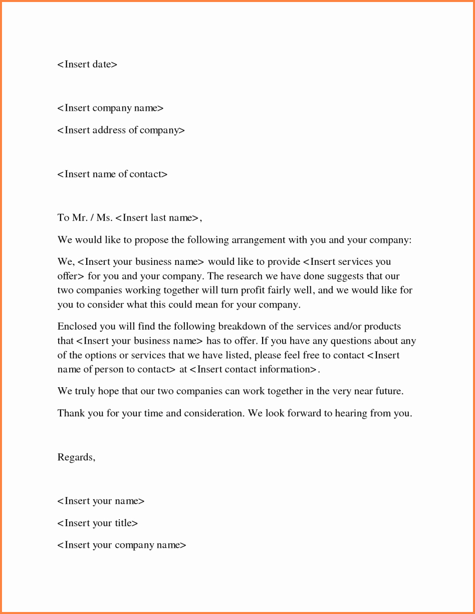 7 how to write a business proposal letter sample