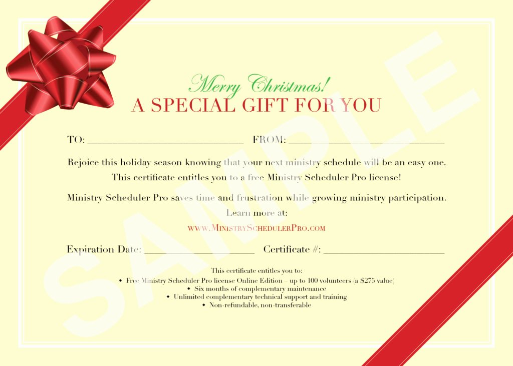 7 New Gift Certificate Templates