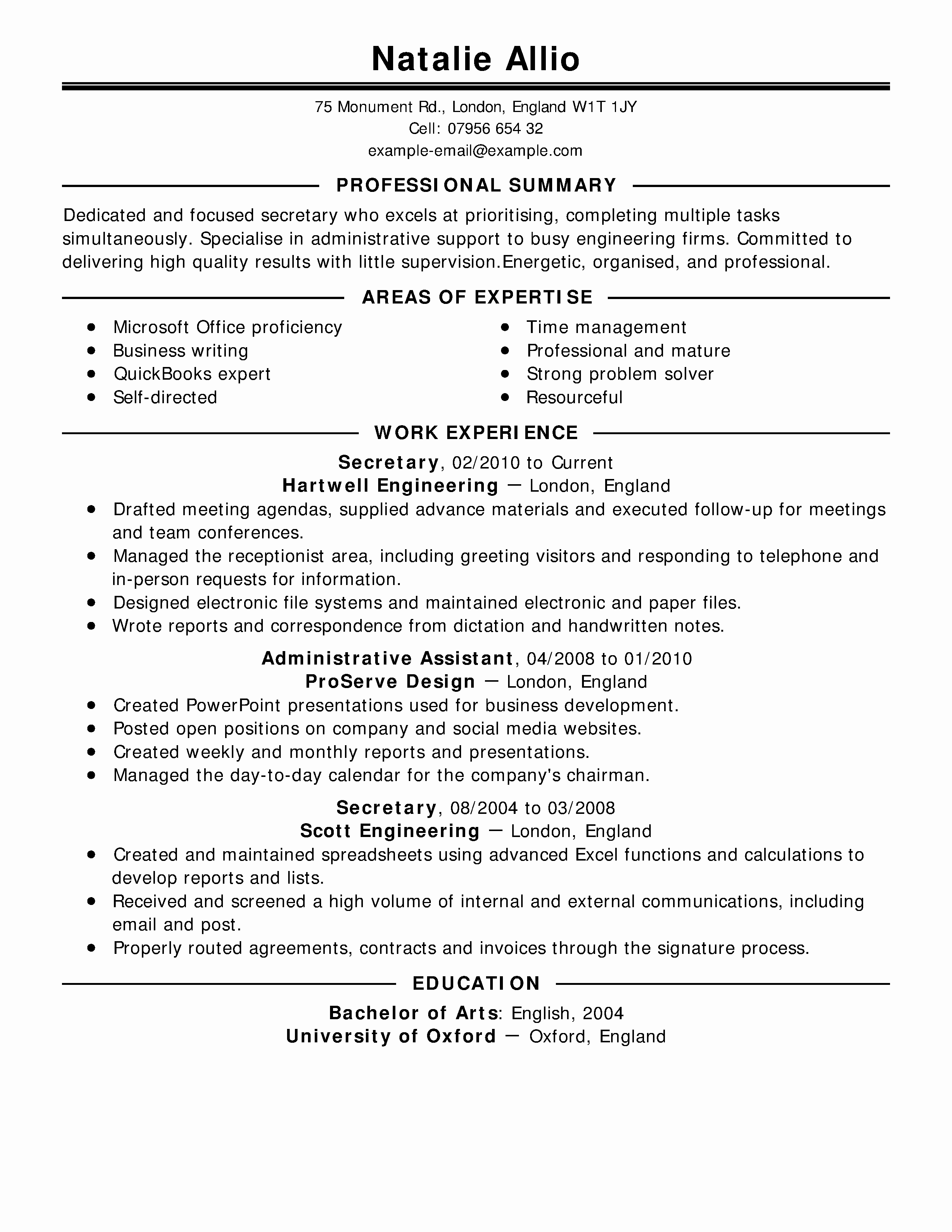 7 Outstanding Cover Letters & Resumes for Internships
