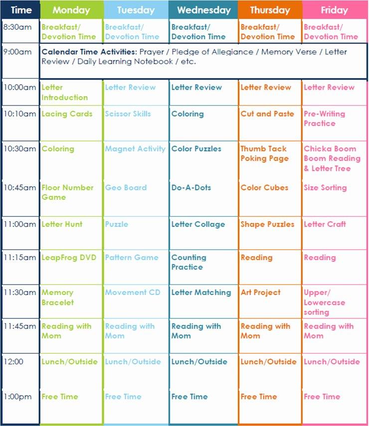 7 Preschool Lesson Template Free Word Excel Pdf formats