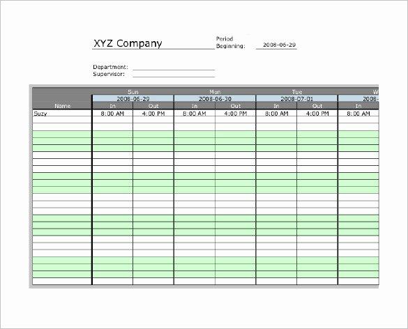 7 Printable Time Card Templates Doc Excel Pdf