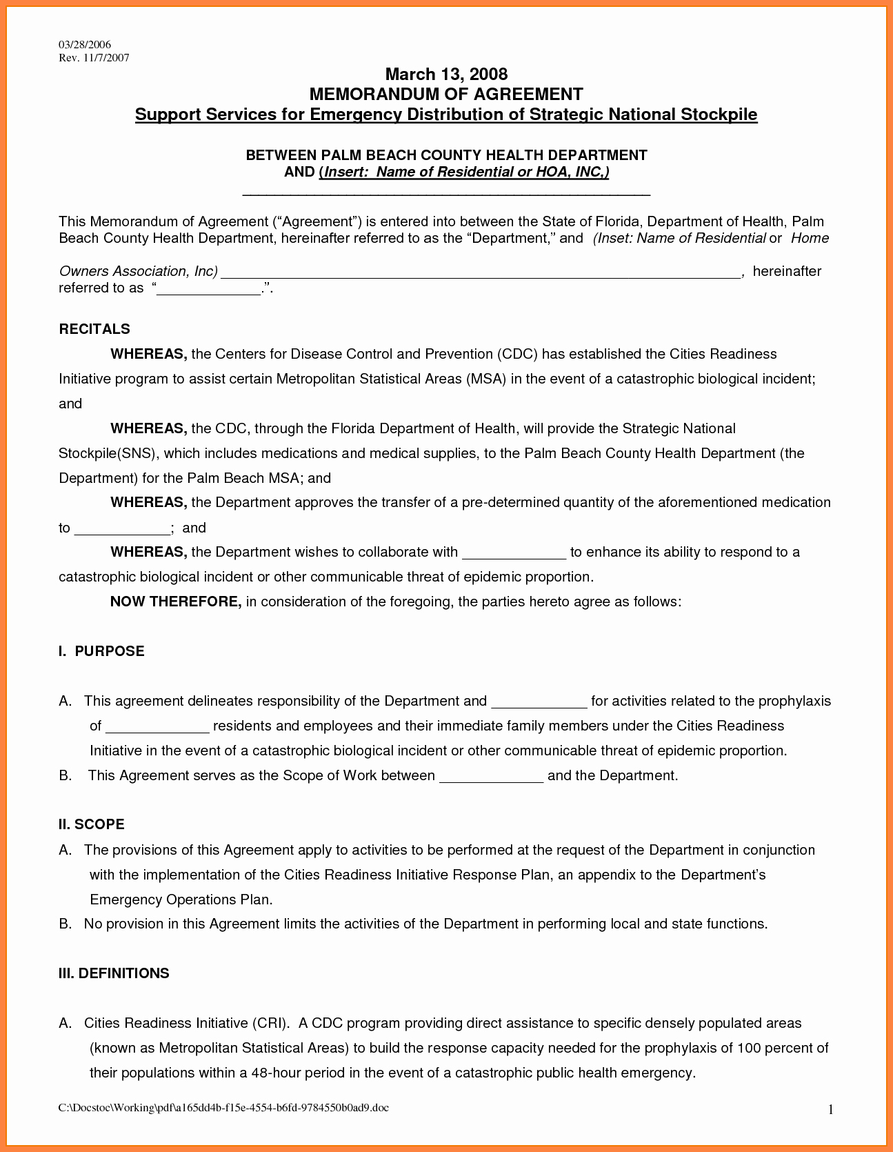 7 Rental Agreement Template Word Document