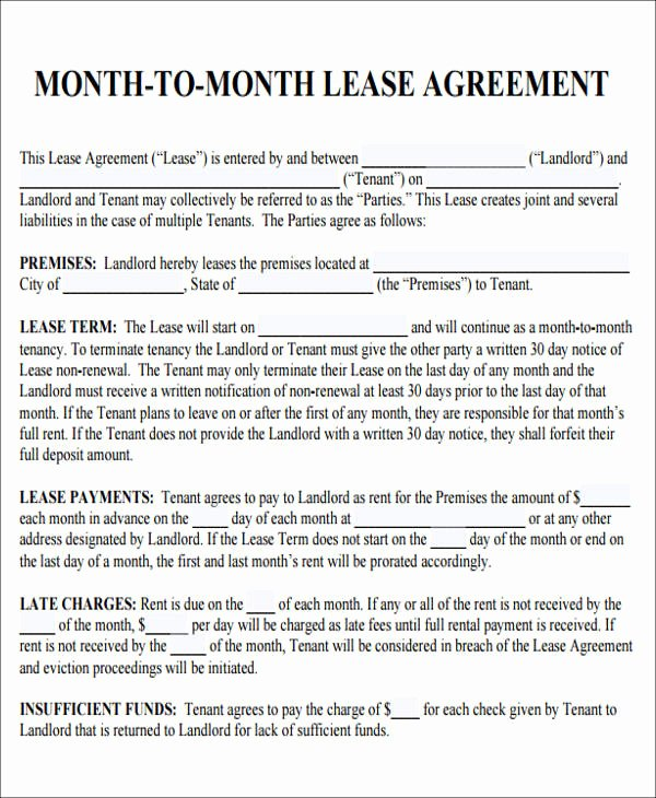 7 Sample Roommate Rental Agreement forms