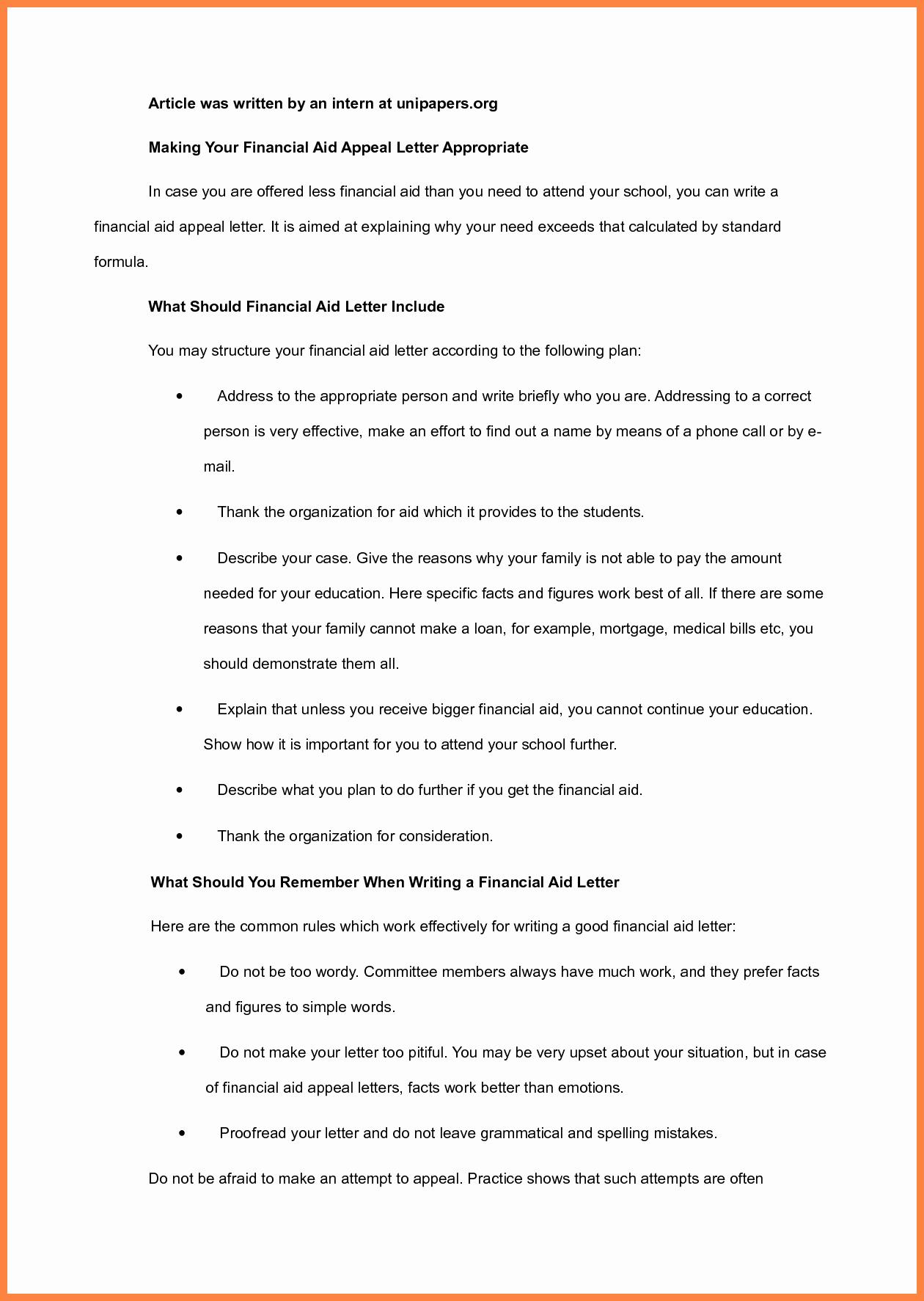 7 Sap Appeal Letter