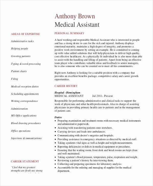 7 Senior Administrative assistant Resume Templates – Pdf