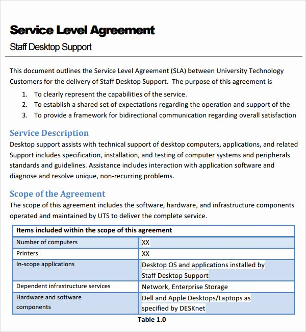 7 Service Agreement Templates