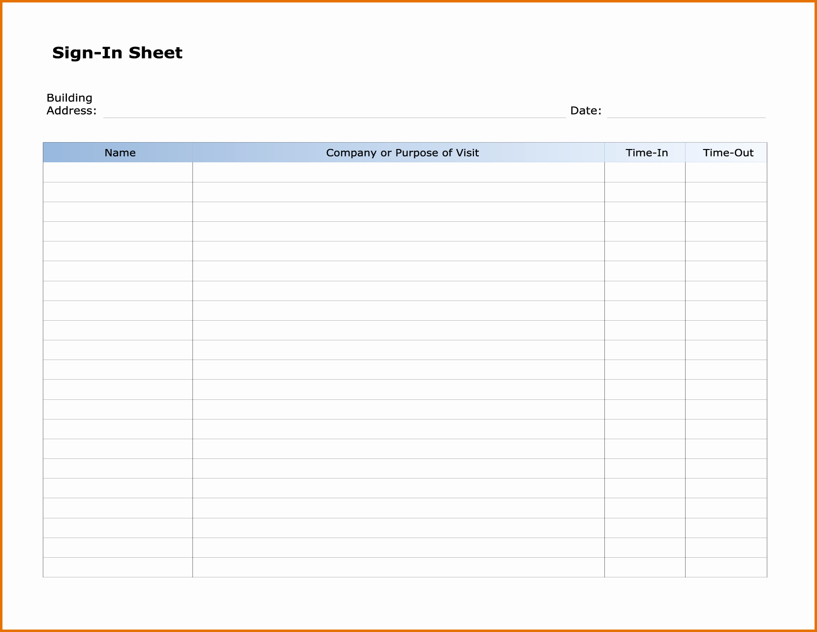 7 Sign In Sheet Template Wordreference Letters Words
