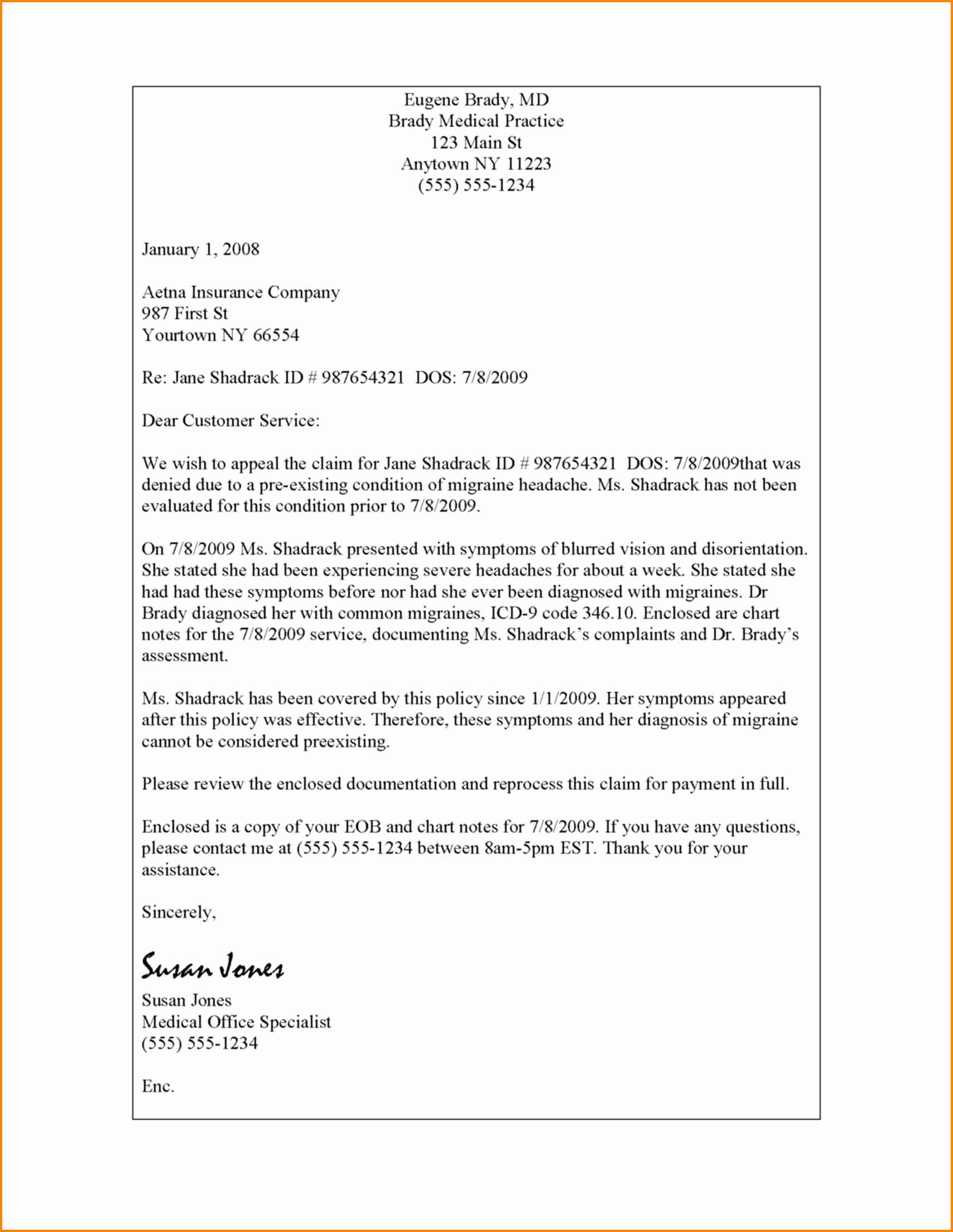 7 Unemployment Denial Appeal Letter Template