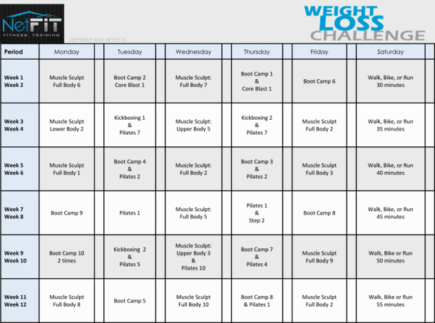 7 Weight Loss Templates Excel Templates