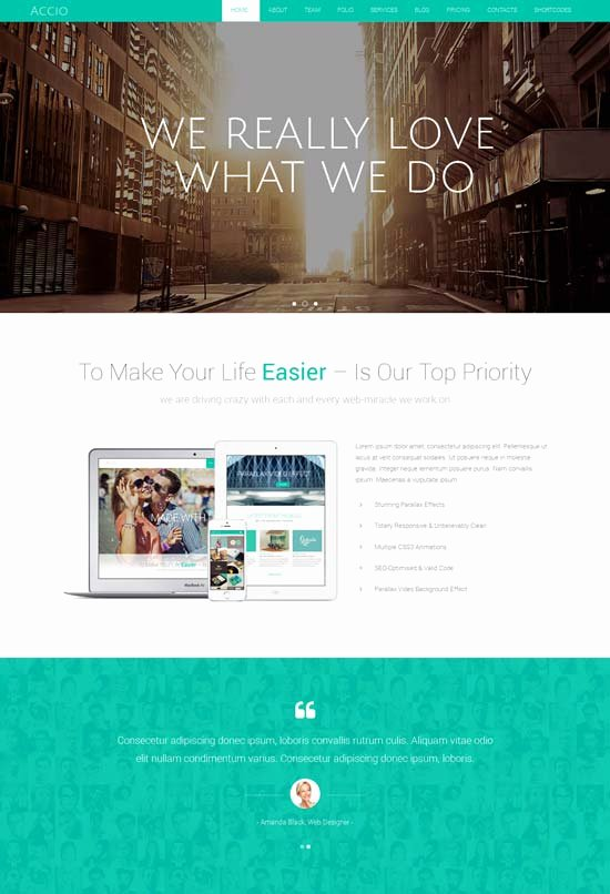 70 Best E Page Website Templates Free & Premium