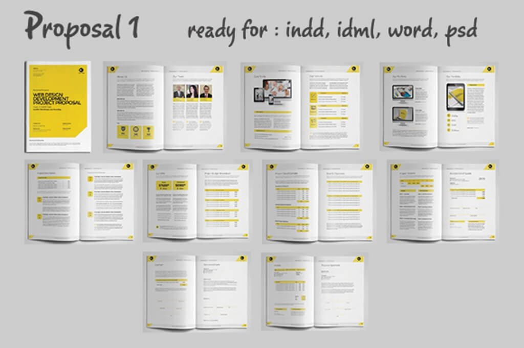 70 Modern Corporate Brochure Templates