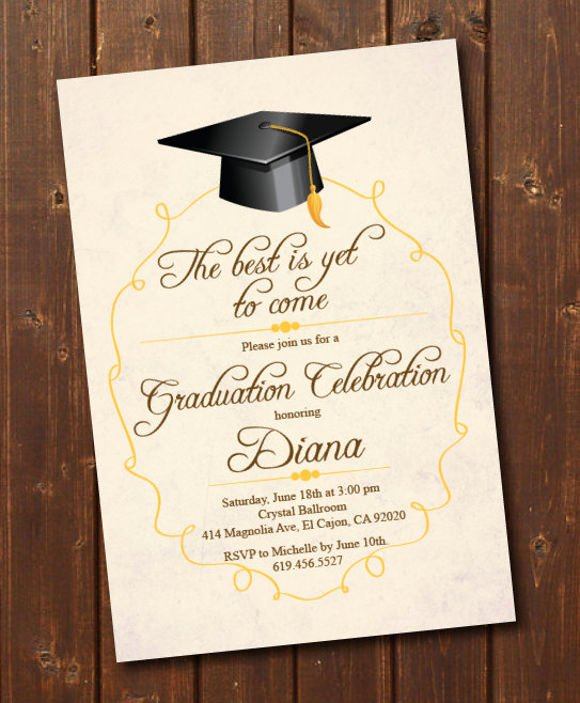 76 Invitation Card Example Free Sample Example format