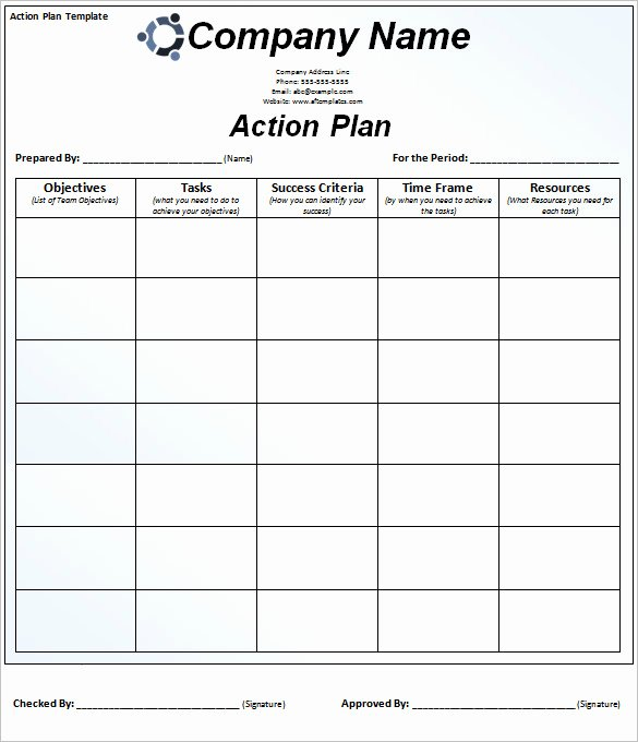 78 Action Plan Templates Word Excel Pdf