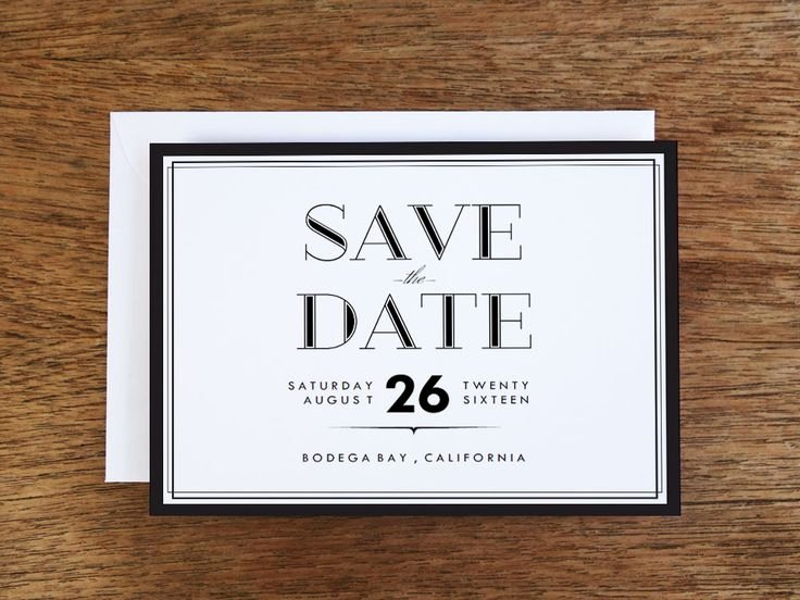 78 Best Printable Wedding Save the Date Cards Images On