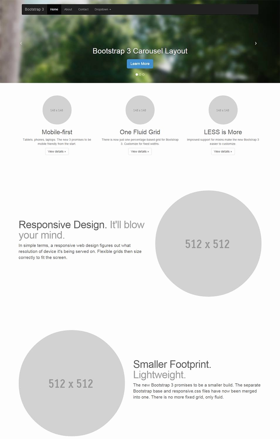 78 Free Bootstrap themes & Templates