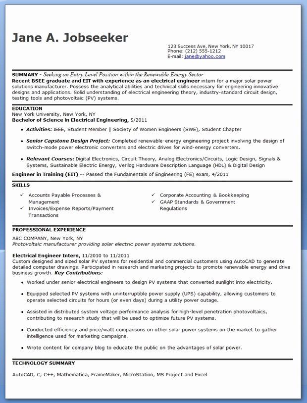 8 9 Entry Level Structural Engineer Resume