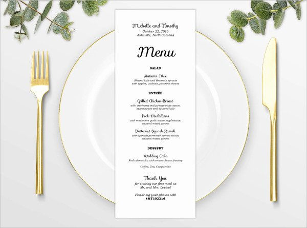 8 Baby Shower Menu Templates Psd Vector Eps Ai
