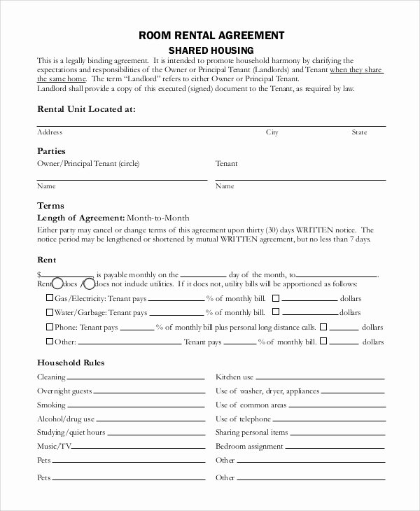 8 Basic Rental Agreement Samples
