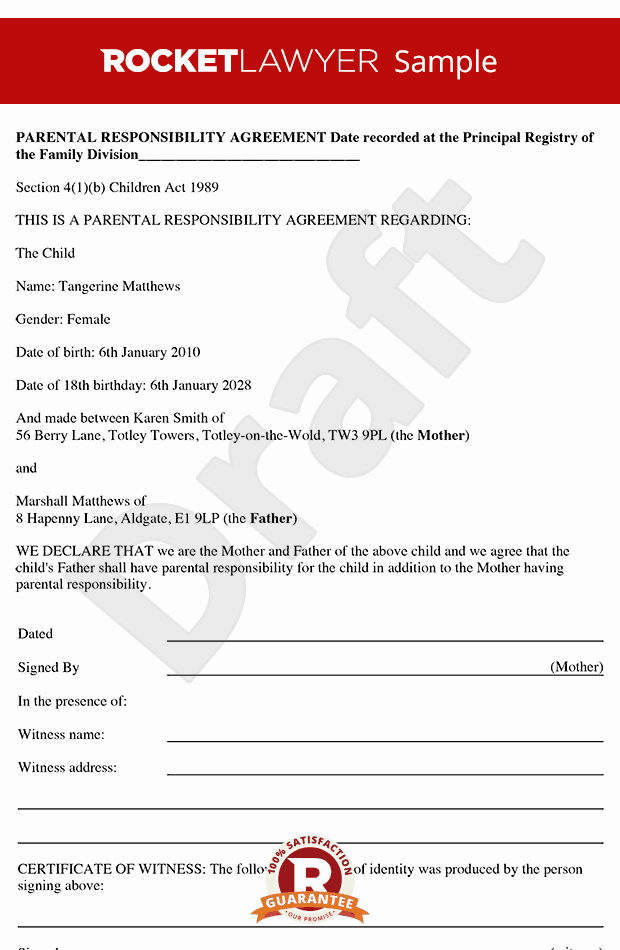 8 Best Of Accountability Agreement Example Child