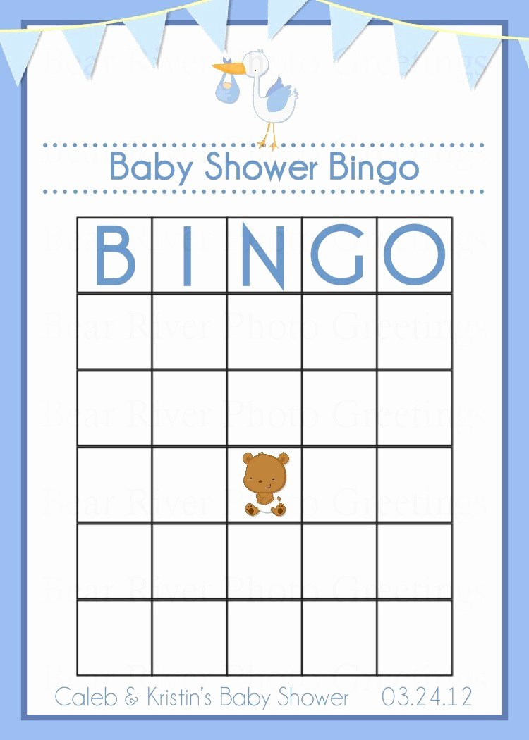 8 Best Of Baby Bingo Template Printable Printable