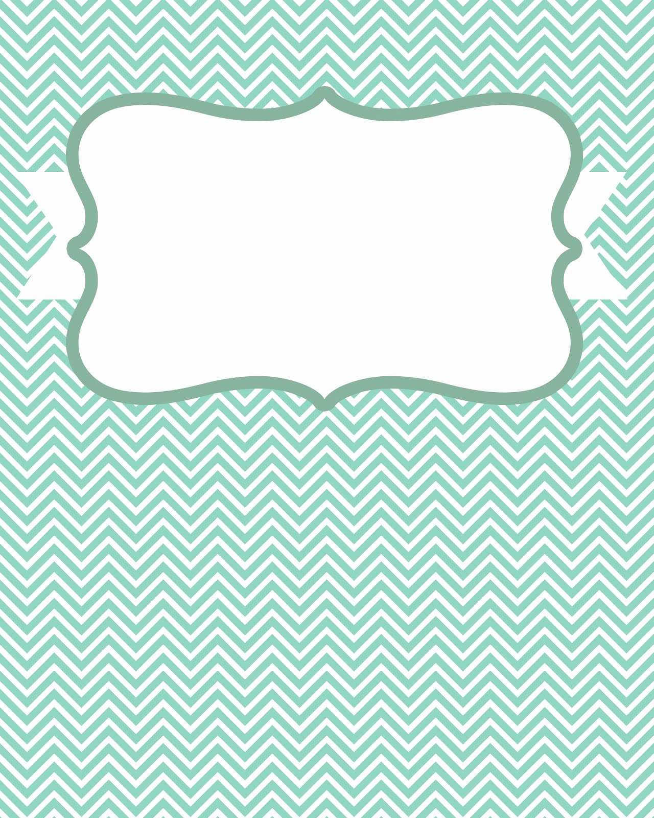8 Best Of Blank Chevron Binder Cover Printables