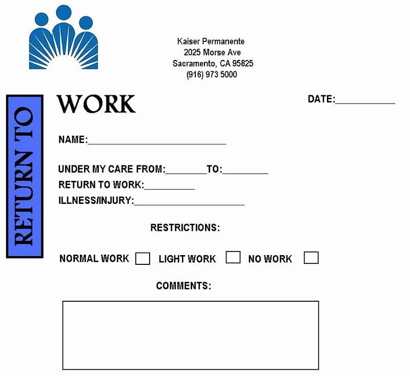 8 Best Of Blank Printable Doctor Note Pdf Fake