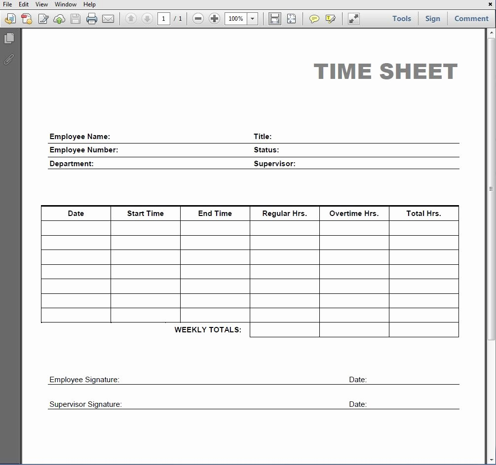 photograph relating to Free Printable Timesheets referred to as 8 Suitable Of Blank Printable Timesheets Absolutely free Latter Case in point