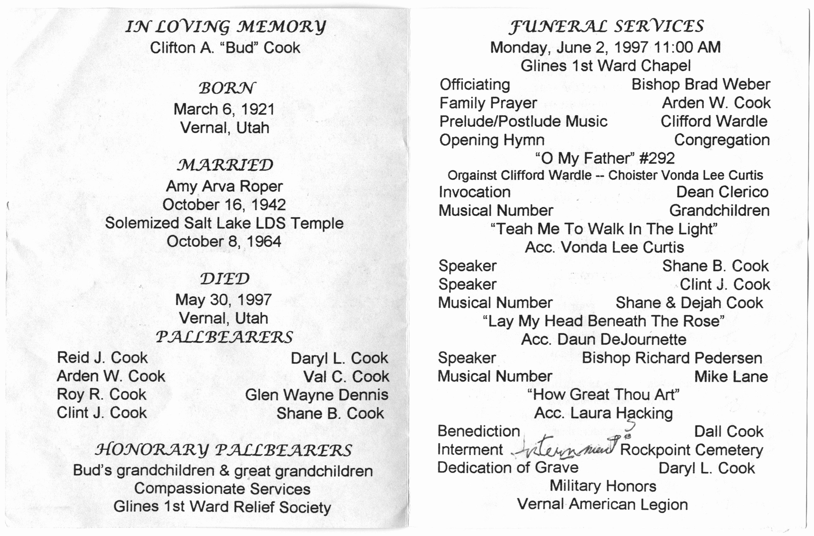 8 Best Of Catholic Funeral Program Wording Sample