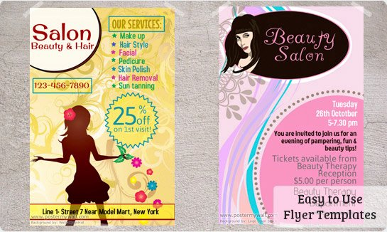 8 Best Of Create Salon Flyers Beauty Salon Flyer