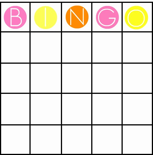 8 Best Of Custom Bingo Card Printable Template