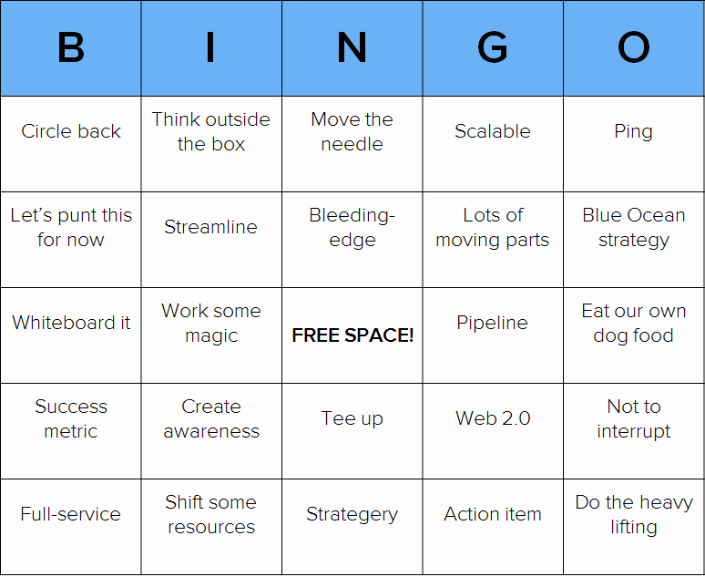 post custom bingo card printable template
