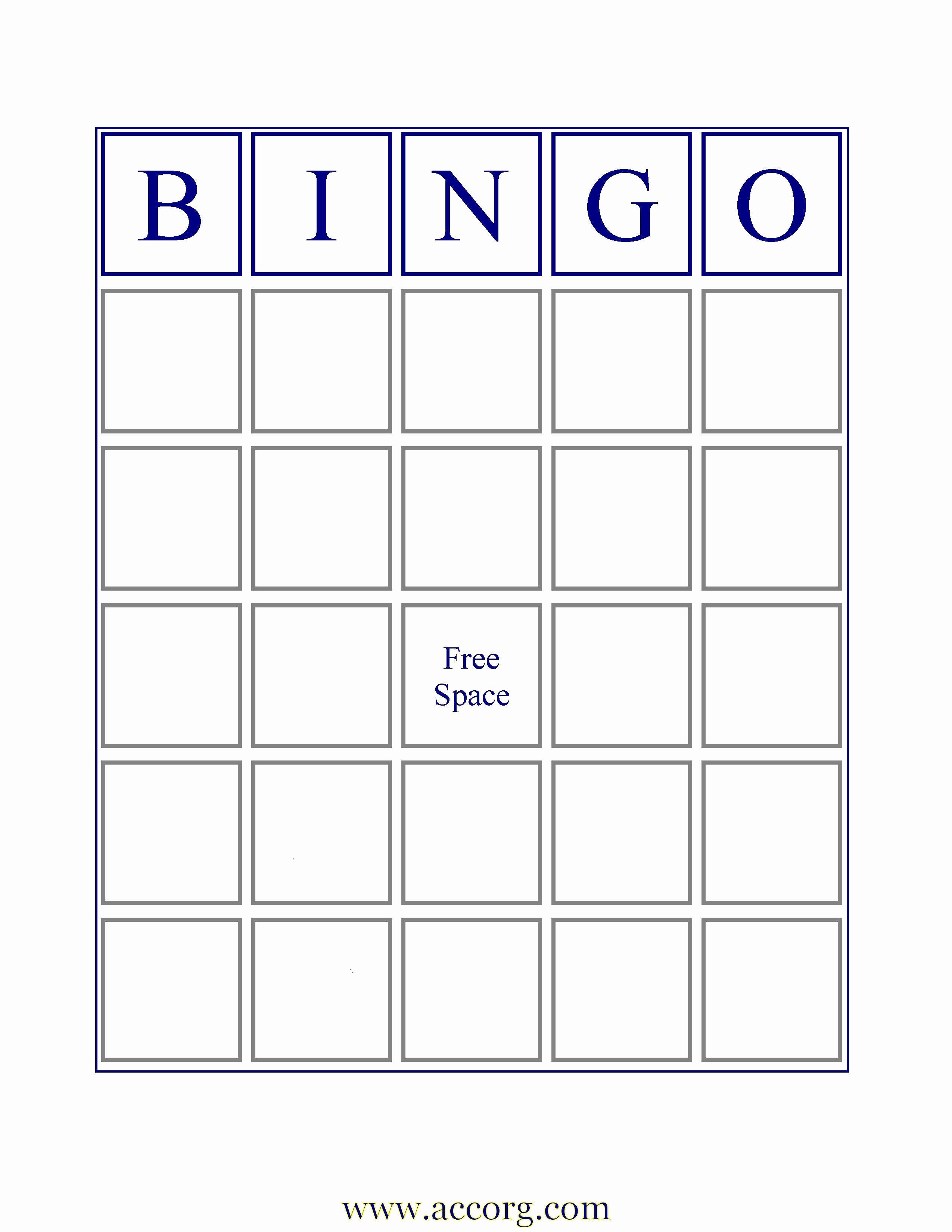 8 Best Of Custom Bingo Card Printable Template