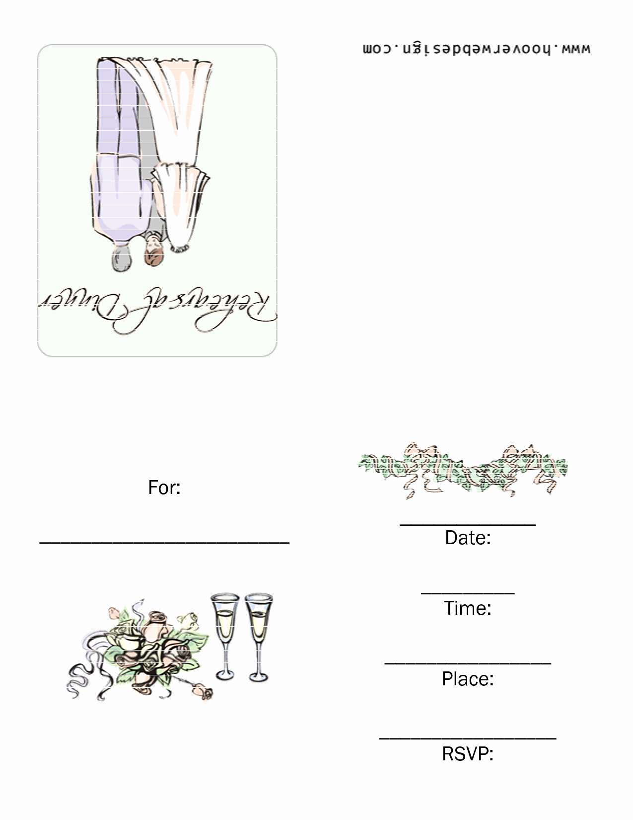 8 Best Of Dinner Invitation Templates Printable