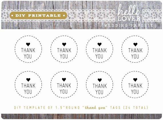 8 Best Of Diy Printable Thank You Tags Thank You