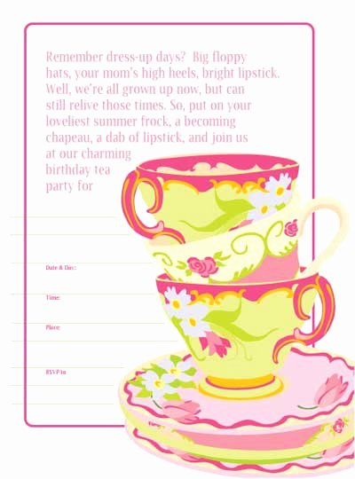 8 Best Of Free Printable Christmas Tea Party