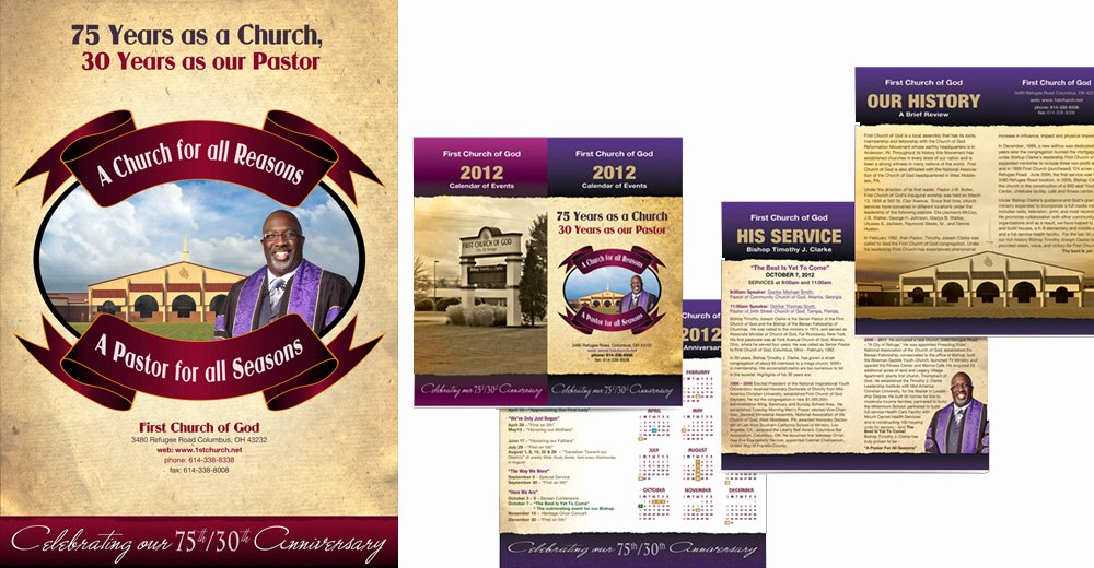 8 Best Of Free Printable Church Program Design