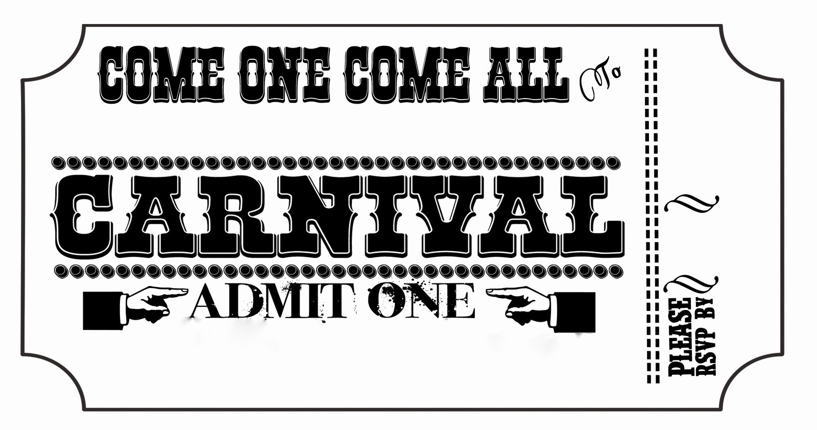 8 Best Of Free Printable Circus Fonts Carnival