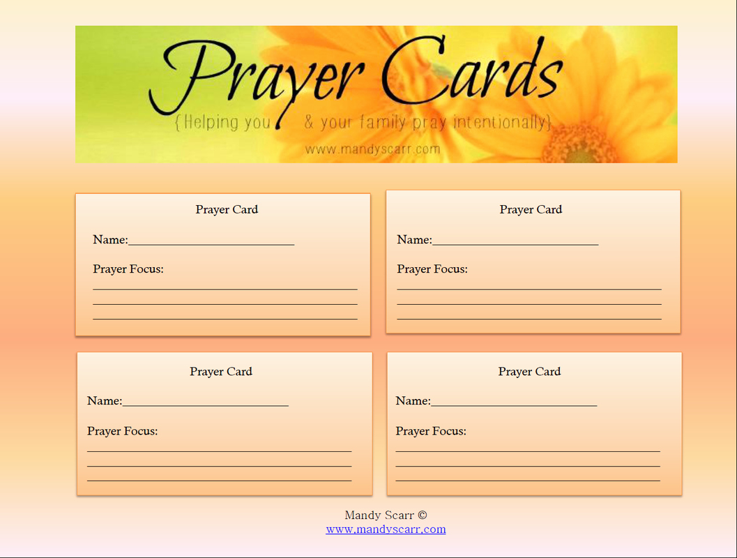 8 Best Of Free Printable Memorial Prayer Cards