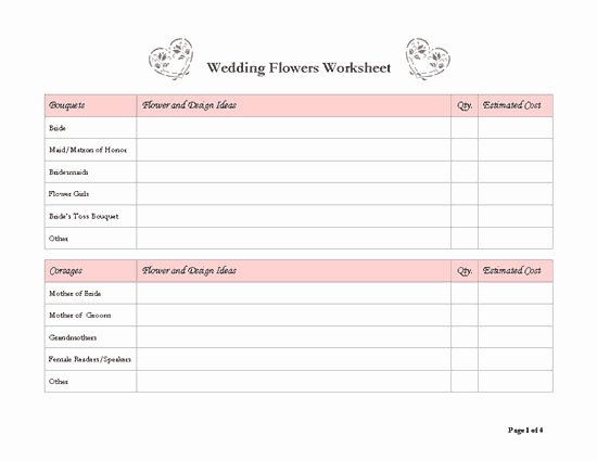 8 Best Of Free Wedding Templates Printable Planners